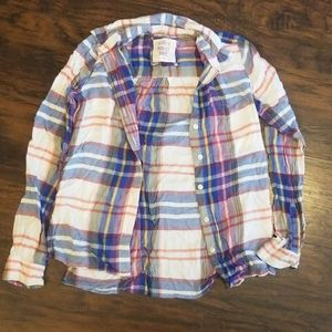 LONG SLEEVE BUTTON DOWN SHIRT SIZE XS